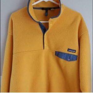 RARE Patagonia Yellow Fleece Synchilla